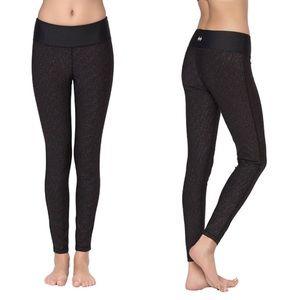 Women's Mid-Waist Power Flex Yoga Pants Legging